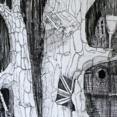 Carlotta tree detail