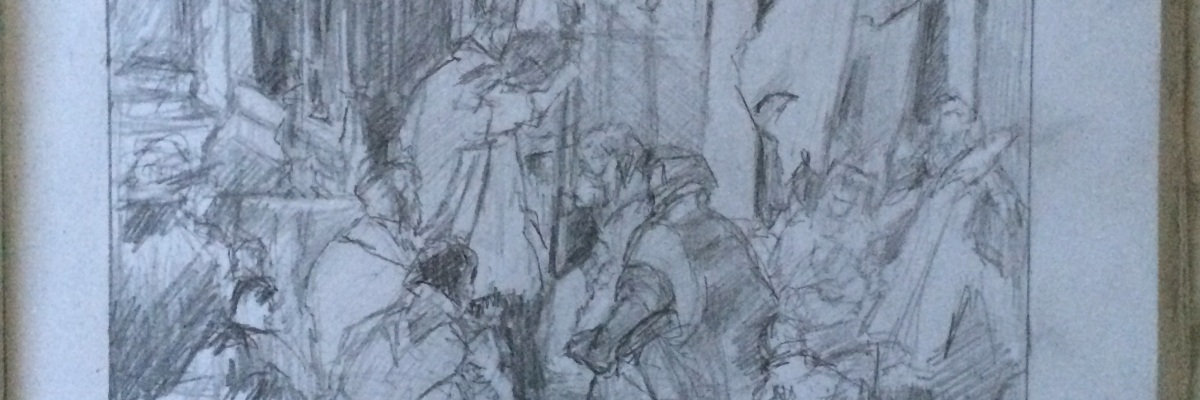 After Tiepolo: The Marriage of Frederick Barbarossa