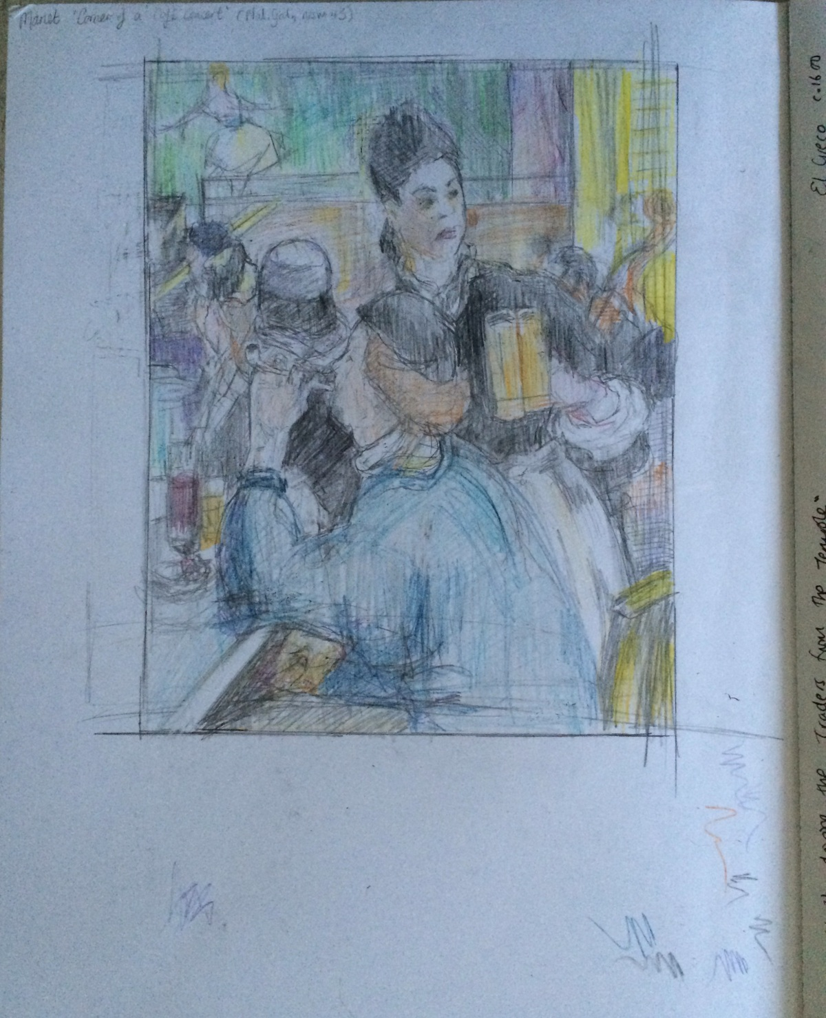After Manet: Corner Cafe Concert