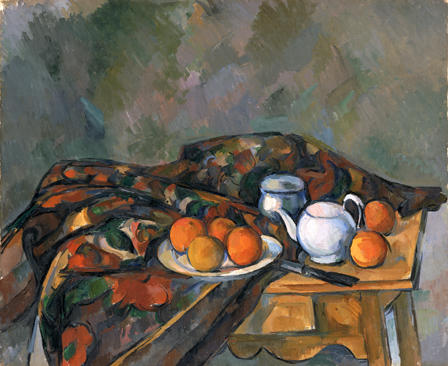 "Paul Cezanne, ""Still Life with Teapot"""